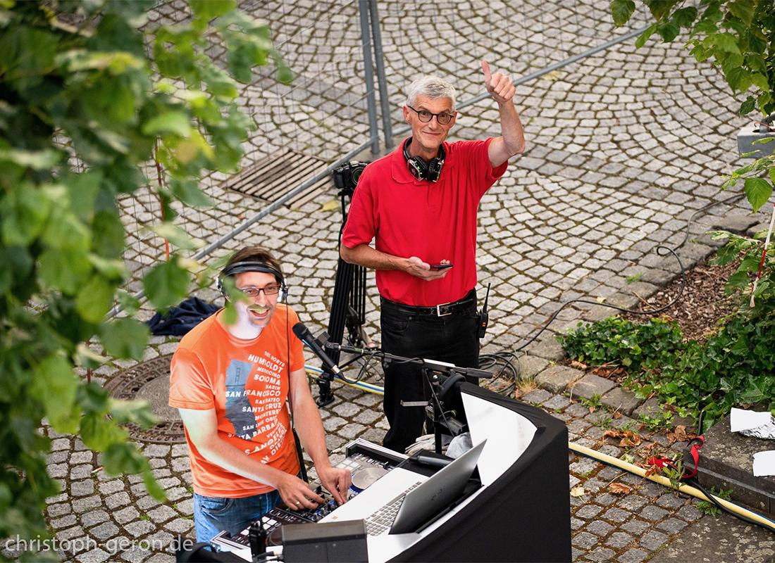 Macher Reiner Friedsam organisierte zusammen mit Fosco Entertainment das vielbeachtete Riesenrad-Event in Sinzig