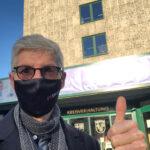 FREIE WÄHLER-Landtagskandidat Reiner Friedsam reicht Unterstützungsunterschriften bei Kreiswahlleiter ein