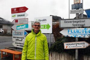 Freie Wähler Landtagskandidat Reiner Friedsam die heimische Wirtschaft im Brohltal unterstützen