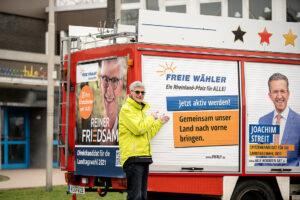 Freie Wähler Landtagskandidat Reiner Friedsam für mehr Sicherheit in den Schulen und Kitas