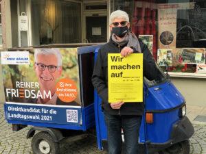 WIR MACHN AUF_merksam Landtagskandidat Reiner Friedsam unterstützt bundesweite Aktion