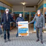 """Streit und Friedsam fordern: """"Läden öffnen jetzt – Sicher mit FFP2-Maske"""""""