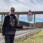 Desolate Landstraßen verursacht durch Sanierungsstau